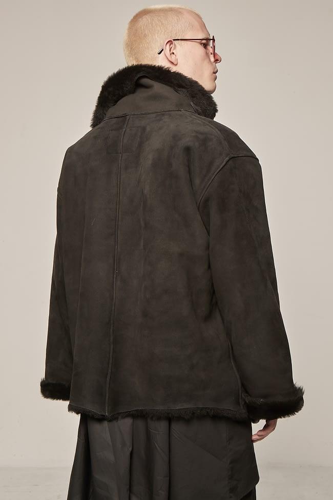 Ivan Grundahl avantgarde shearling fur