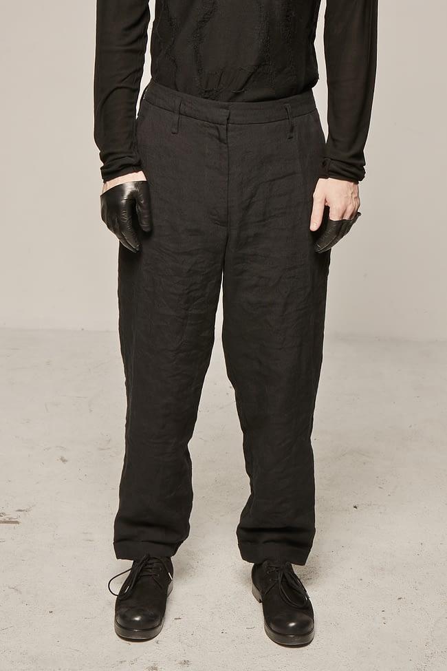 Ivan Grundahl avantgarde linen trouser