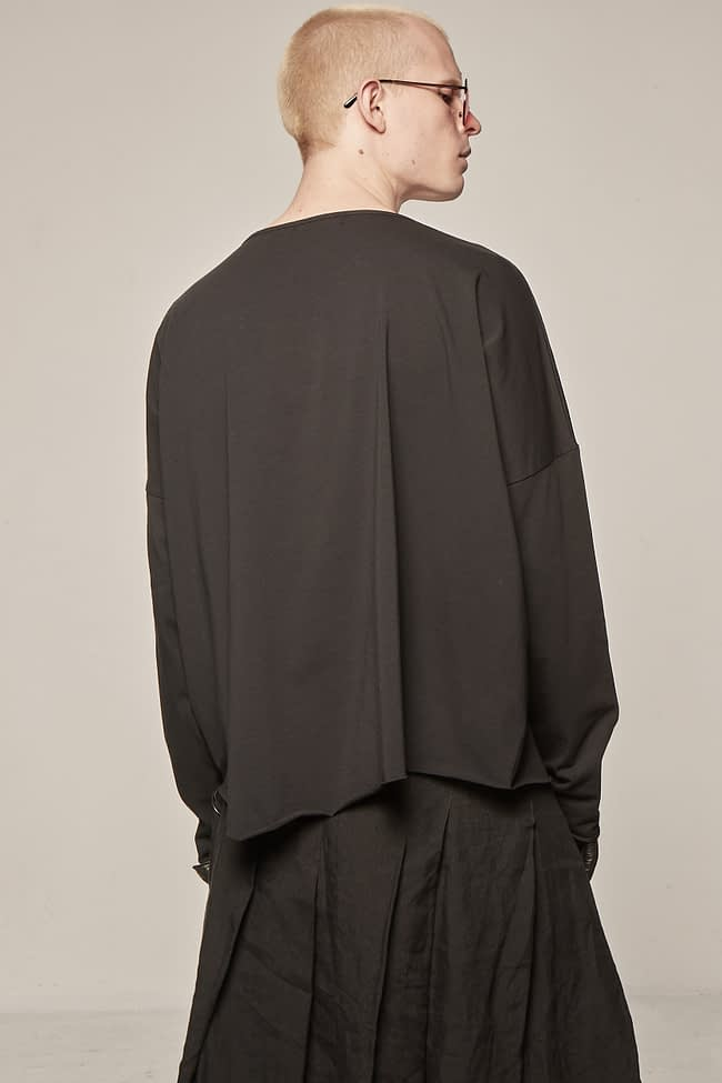 Ivan Grundahl avantgarde oversized jersey long-sleeve