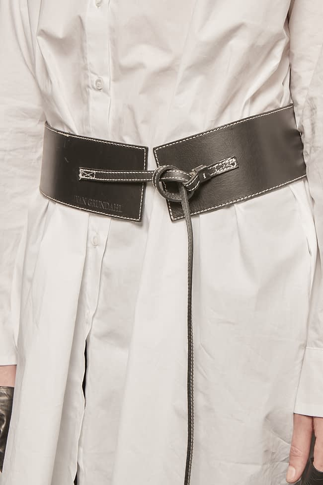 Ivan Grundahl avantgarde core leather belt