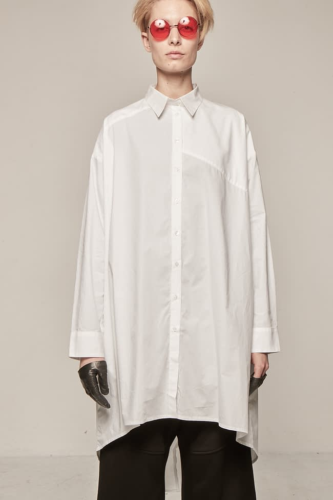 Ivan Grundahl avantgarde long shirt