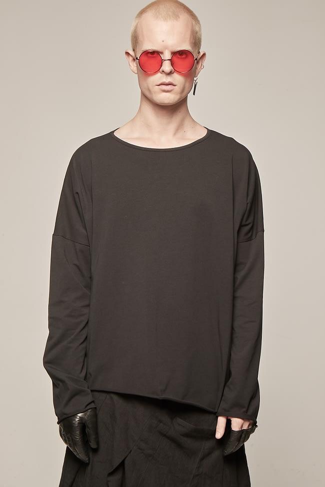 Ivan Grundahl avantgarde oversized jersey long-sleeve