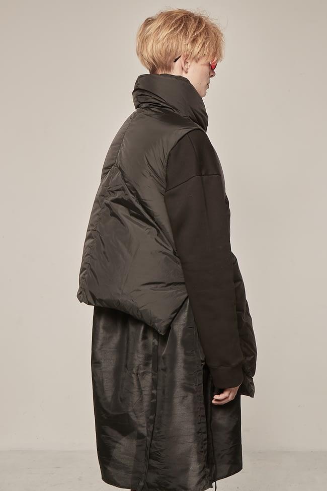 Ivan Grundahl avantgarde puffer vest