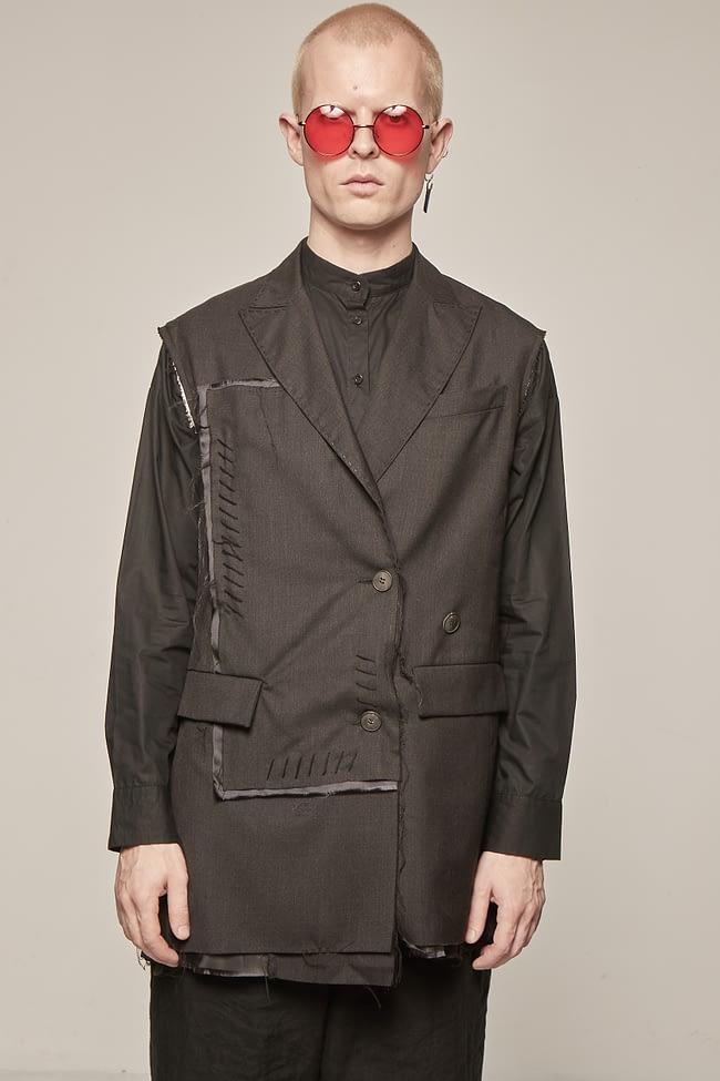 Ivan Grundahl avantgarde deconstructed vest