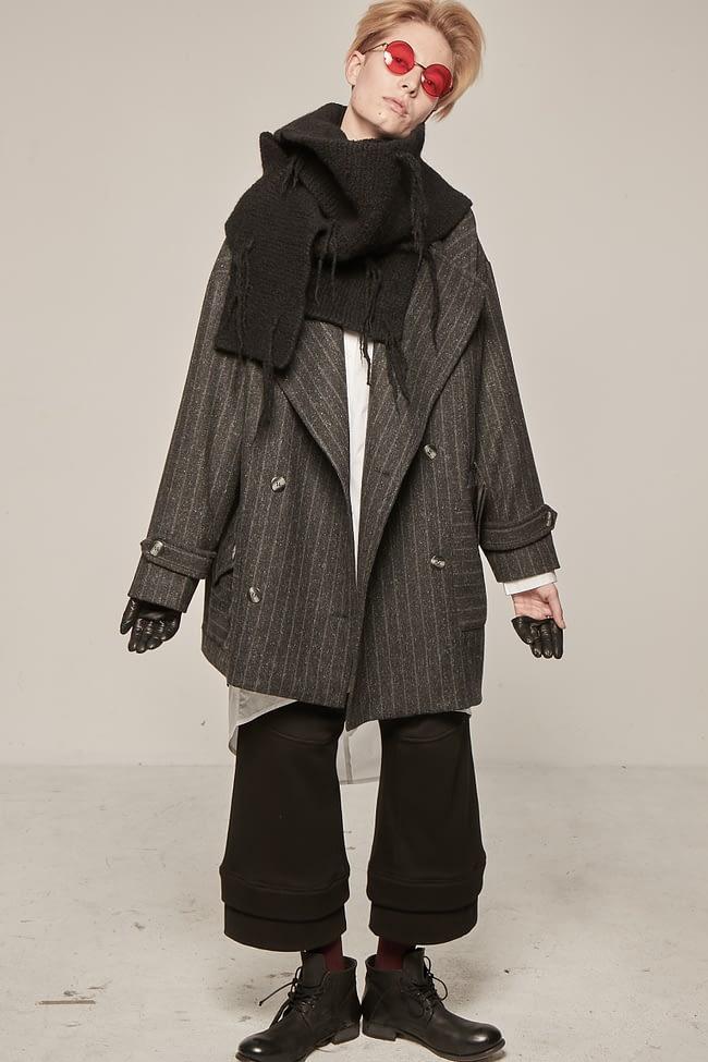 Ivan Grundahl Coat Thin Stribe Avantgarde