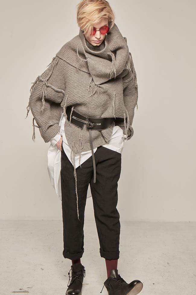 Ivan Grundahl avantgarde core leather belt